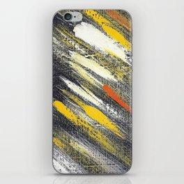 Cosmic yellow YG iPhone Skin