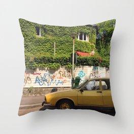 Bucharest #1 Throw Pillow