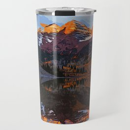 The Wonderful Maroon Bells in Autumn Travel Mug