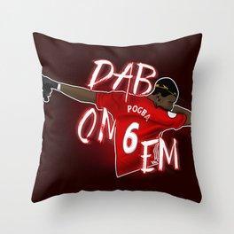 Pogba Throw Pillow