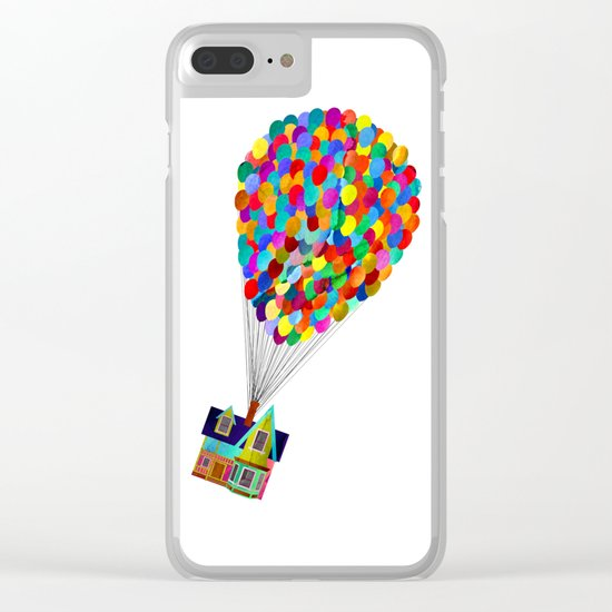 Disney's UP House Clear iPhone Case