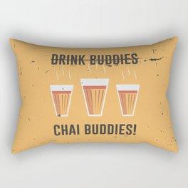 Not Drink Buddies, Chai Buddies Rectangular Pillow