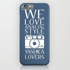"""We Love Analog"" iPhone 6s Slim Case"