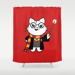 Wizardkitty Griffin House! Shower Curtain