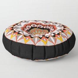 My Solar Plexus Mandhala | Secret Geometry | Energy Symbols Floor Pillow