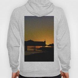 September Sunset at Brighton Pier Hoody