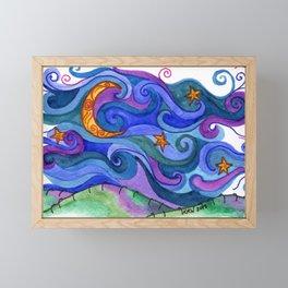 Dreaming Framed Mini Art Print