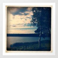 birch Art Prints featuring BIRCH by DanaMonstah