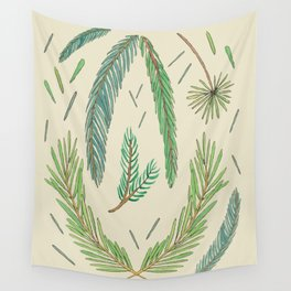 Pine Bough Study Wall Tapestry