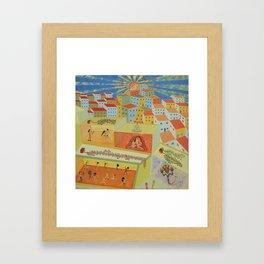 Eccentric City Framed Art Print