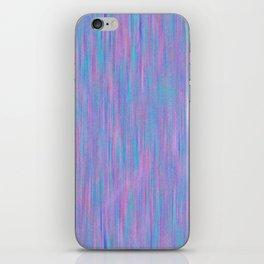 Purple Turquoise Watercolor iPhone Skin