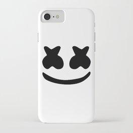 Marshmello face iPhone Case
