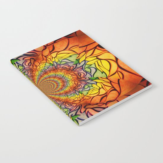Sunburst Notebook