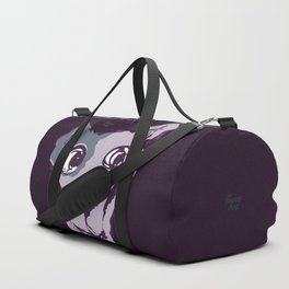 Anton - purple Duffle Bag