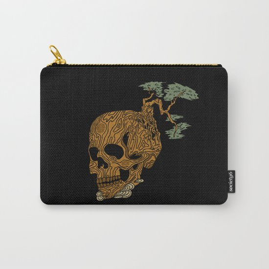 Timber Skull Carry-All Pouch