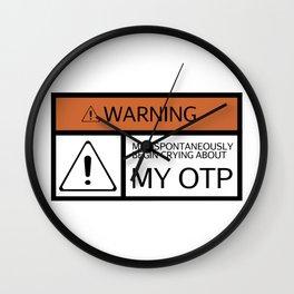 WARNING - My OTP Wall Clock