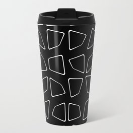 Changing Perspective - Simplistic Black and white Travel Mug