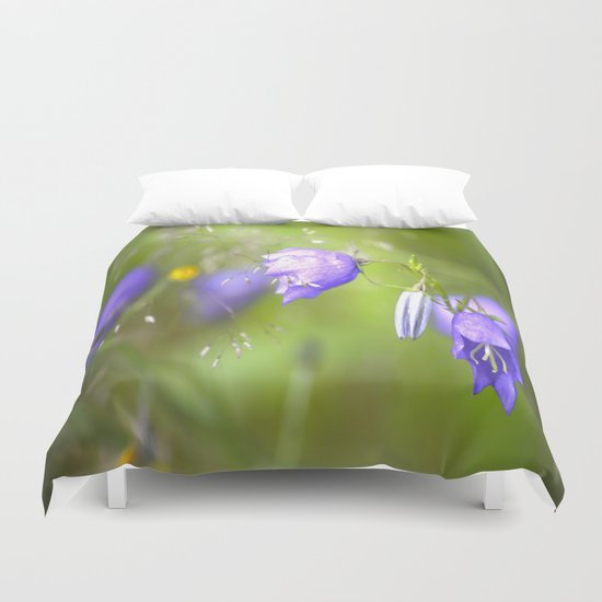 Bluebells in The Meadow  Duvet Cover