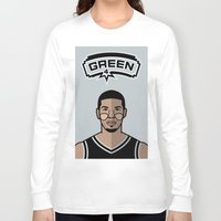 danny haas Long Sleeve T-shirts featuring Danny Green by Will Wild