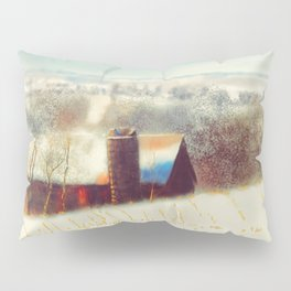 The Barn Over The Hill Pillow Sham