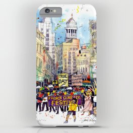 Second Line Parade, New Orleans iPhone Case