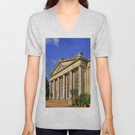 Temple Greenhouse Unisex V-Neck