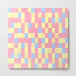 Colours Mozaik Colours Metal Print