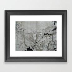 Santa Cruz Framed Art Print