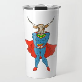 Man of Steer Travel Mug