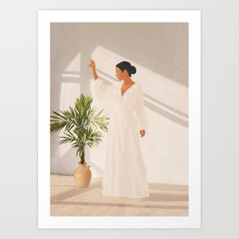 Opened Window Art Print