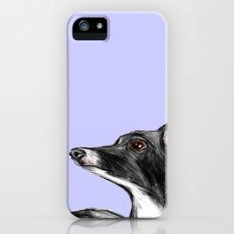 Italian Greyhound Illustration iPhone Case