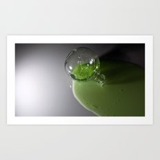 radioactive superhero juice... Art Print