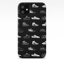 Black Sneaker iPhone Case