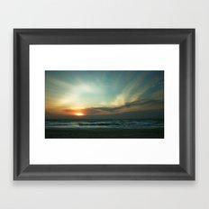 Morning Surf Framed Art Print