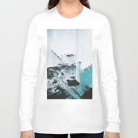 glitch Long Sleeve T-shirts featuring Glitch by SUBLIMENATION
