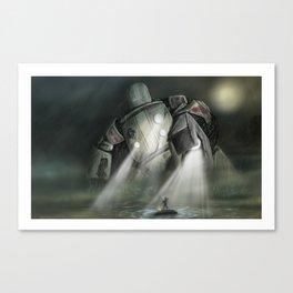 Robot H Canvas Print