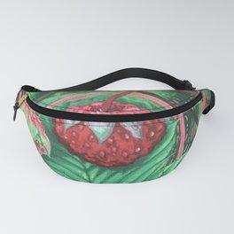 Wild Strawberries Fanny Pack