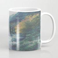 explore Mugs featuring Explore by Hannah Kemp