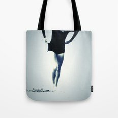 Woman Emerging Tote Bag