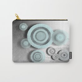 Metall Circles Carry-All Pouch