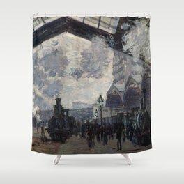Monet - The Gare St. Lazare Shower Curtain