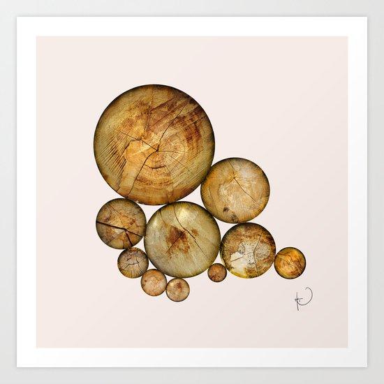 Wood Wood 1 Art Print