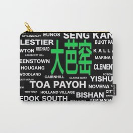 SINGAPORE HOUSING ESTATE (TOA PAYOH 大芭窑) Carry-All Pouch