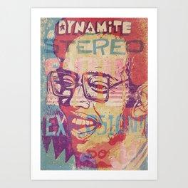 Dynamite Stereo Soul Explosion Sound Art Print