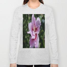 Double Headed Marsh Mallow Althaea Officinalis  Long Sleeve T-shirt