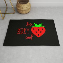 So Berry Cool Rug
