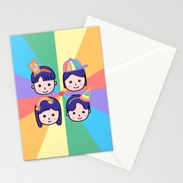Pride in Cuteness Stationery Cards