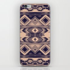 Southwest Pattern- Peach & Purple iPhone & iPod Skin