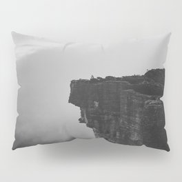 The Cliff (Black and White) Pillow Sham