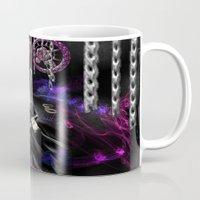 monika strigel Mugs featuring Monika by RebelInkGirl